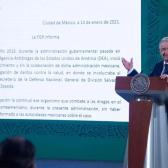 AMLO respalda decisión de FGR sobre Cienfuegos y ordena hacer público expediente