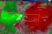 Emiten alerta por tormenta eléctrica severa para el sur del condado de Hidalgo