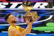 Stephen Curry gana concurso de triples del All Star Game de la NBA