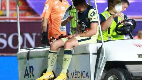 Nicolás Benedetti será operado de la rodilla derecha tras lesión en el juego contra el León
