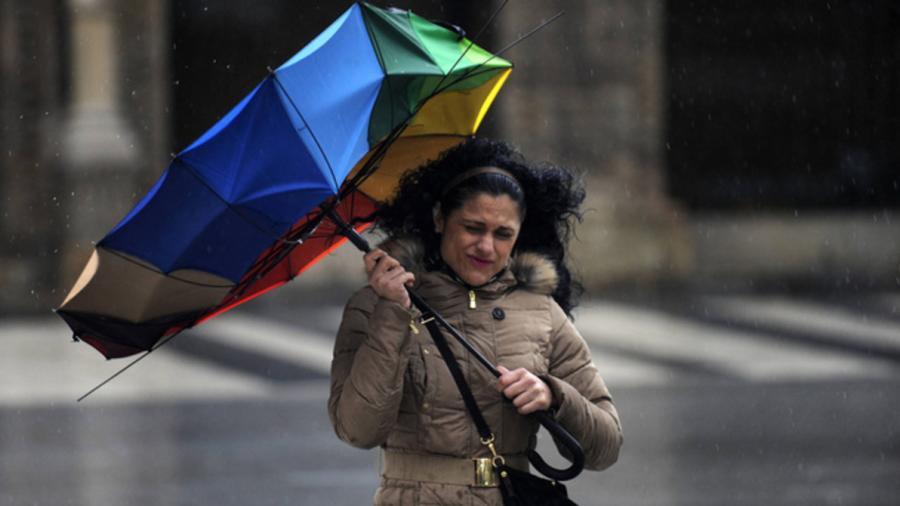 Se pronostican fuertes vientos y lluvias aisladas en el noreste del país