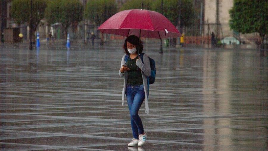 Se pronostican lluvias en gran parte del país