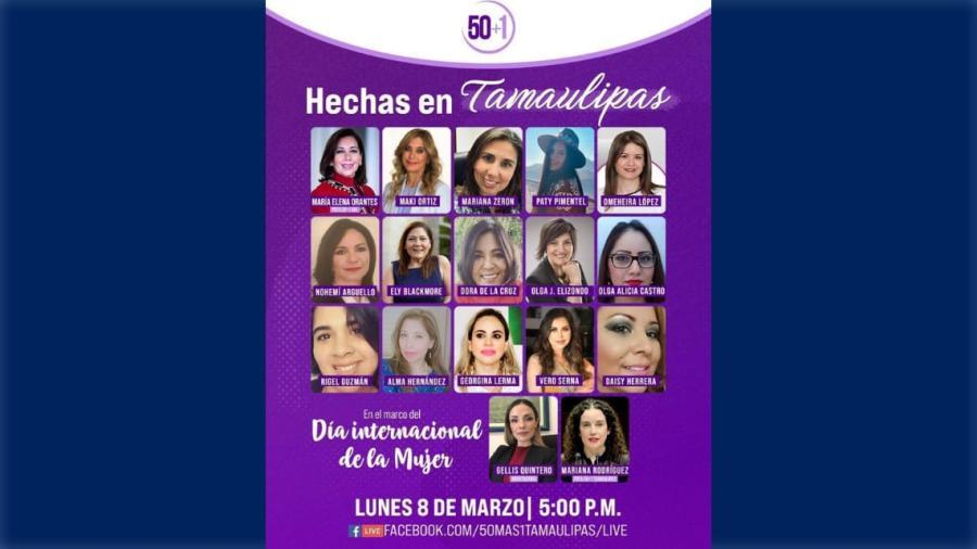 """Comparten """"Hechas en Tamaulipas"""" su experiencia a reynosenses"""