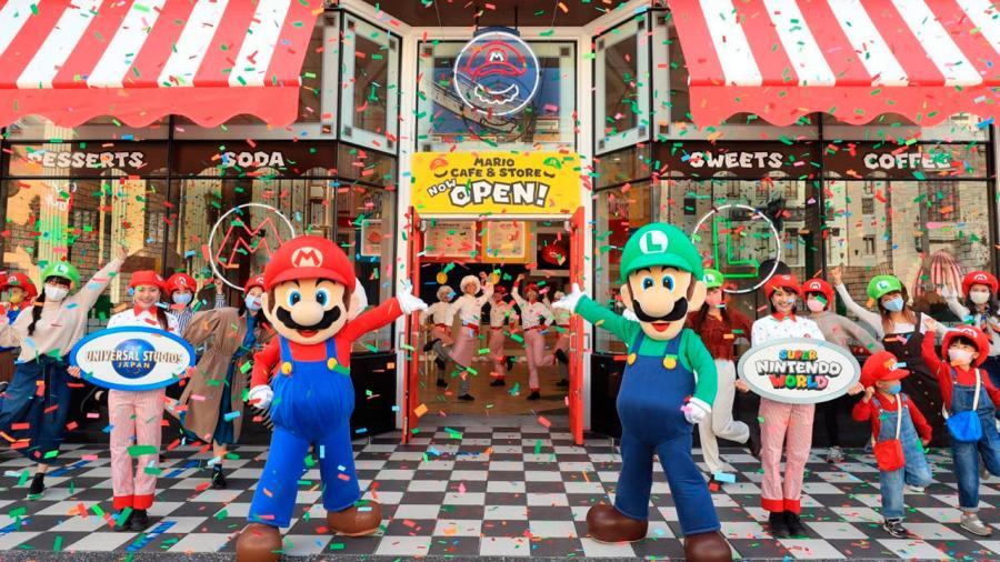 Primer Mario Cafe & Store abre sus puertas en Japón