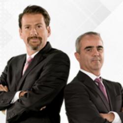 Eduardo Videgaray y José Ramón San Cristóbal